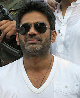Suniel Shetty Indian film actor, producer and entrepreneur