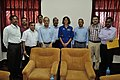 Sunita Lyn Williams with NCSM Dignitaries - Kolkata 2013-04-02 7660.JPG
