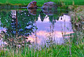 Sunrise Reflection, Sisters, OR 9-13 (20415432283).jpg