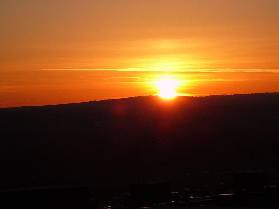 Sunset in Brno - Nový Lískovec (CZE)1