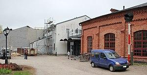 Finnish Railway Museum - Image: Suomen rautatiemuseo Hyvinkaa 2013