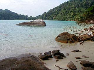 Marine protected archipelago in Andaman Sea, Thailand