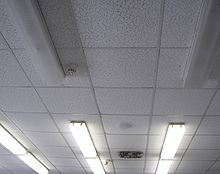What is a dropped Ceiling?