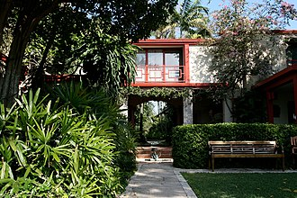 The Kampong - Original Fairchild home with Sweeney addition from courtyard