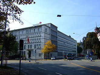 Swiss Life - Swiss Life AG headquarters in Zurich.