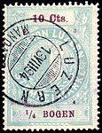 Switzerland Lucerne 1894 revenue 4 10c - 37a - E 3 94.jpg