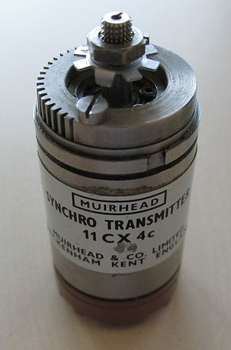 Synchro - A picture of a synchro transmitter
