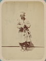 Syr Darya Oblast. City of Tashkent and the Types of People Seen on Its Streets. A Dervish Playing an Instrument WDL10952.png