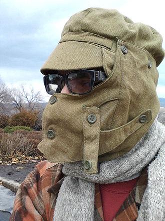 Kepka-afganka - A Syriyka deployed