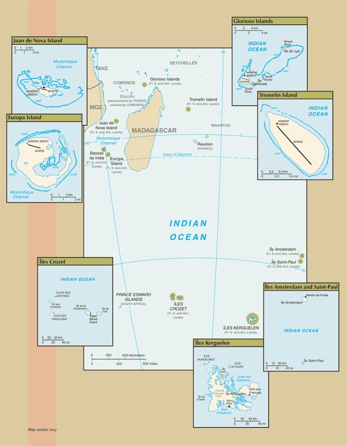TAAF-CIA WFB Map