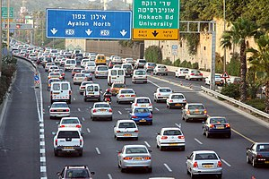 Afternoon Traffic Jams near 'Halacha' Intercha...