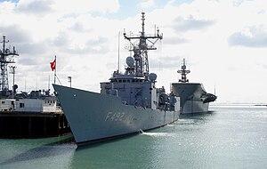 USS Flatley (FFG-21) - TCG Gemlik (F492)