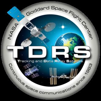 Tracking and Data Relay Satellite System - TDRS Program Logo