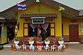 THAI RAILWAYS LOCO HAULED TRAIN JOURNEY FROM BANGKOK THON BURI STATION TO KANCHABURI STATION RIVER KWAI THAILAND JAN 2013 (9365352646).jpg