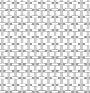 Plain weave - Structure of plain-woven fabric