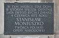 Tablica Stanisław Moniuszko ul. Mazowiecka 3-5.jpg