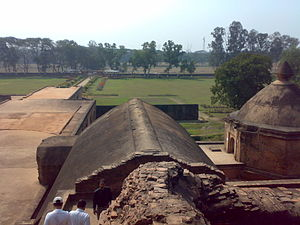 Talatal Ghar - Image: Talatal Ghar view from the top floor