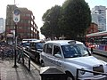 Taxi Rank on Hammersmith Road - geograph.org.uk - 960956.jpg