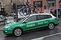 Team Europcar car, Milan-Sanremo 2013, Savona.jpg