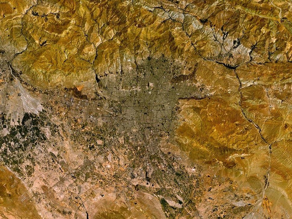 Tehran 51.41504E 35.69272N