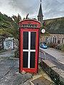 Telephone box St Piran flag.jpg