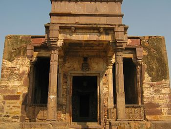 Temple at Ranthambore Fort.jpg