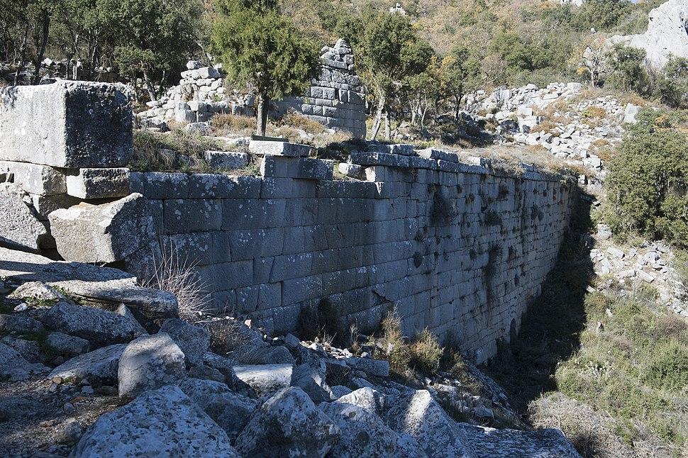 Termessos Upper city wall 3342