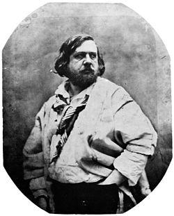 Théophile Gautier par Nadar (1856).