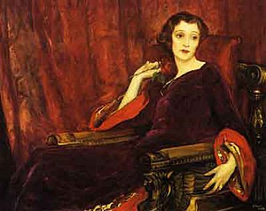 John Lavery - Image: The Red Rose