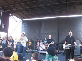 The Adolescents na Warpef Tour v roce 2010