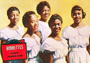 The Bobbettes - The group in 1957.