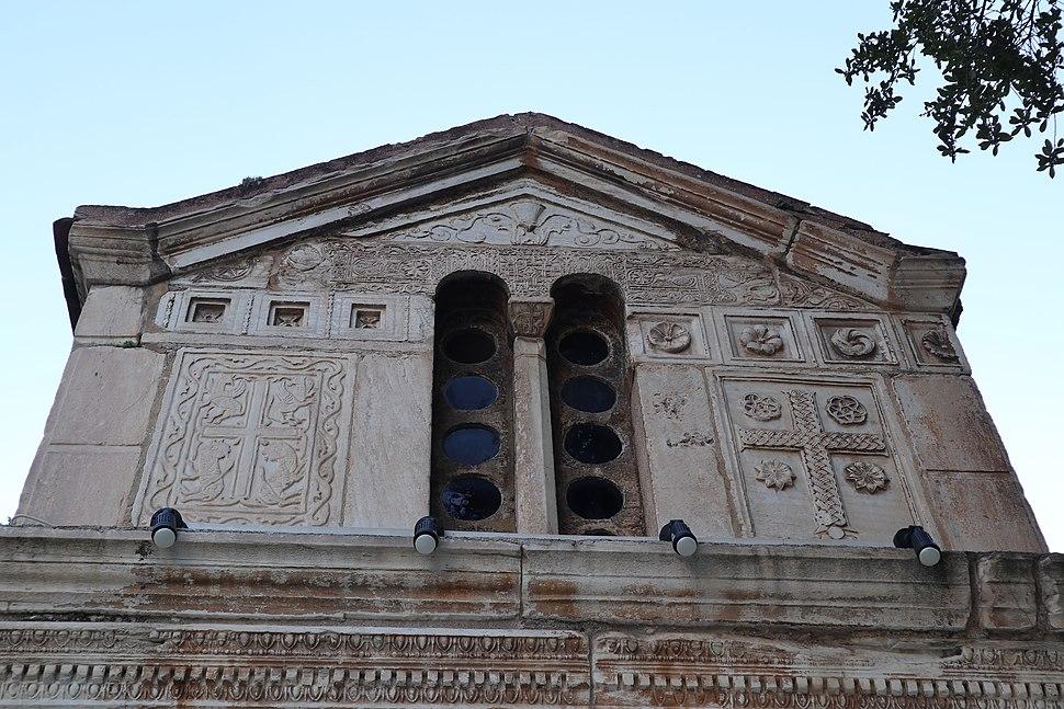 The Byzantine church of Agios Eleftherios - Panagia Gorgoepikoos (Little Metropolis) in Athens, Greece (39)