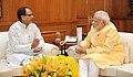 The Chief Minister of Madhya Pradesh, Shri Shivraj Singh Chouhan calling on the Prime Minister, Shri Narendra Modi, in New Delhi on June 04, 2015 (1).jpg