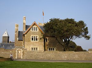 "Arts and Crafts movement - Pugin's house, ""The Grange"", in Ramsgate, 1843. Its simplified Gothic style, adapted to domestic building, helped shape the architecture of the Arts and Crafts Movement."