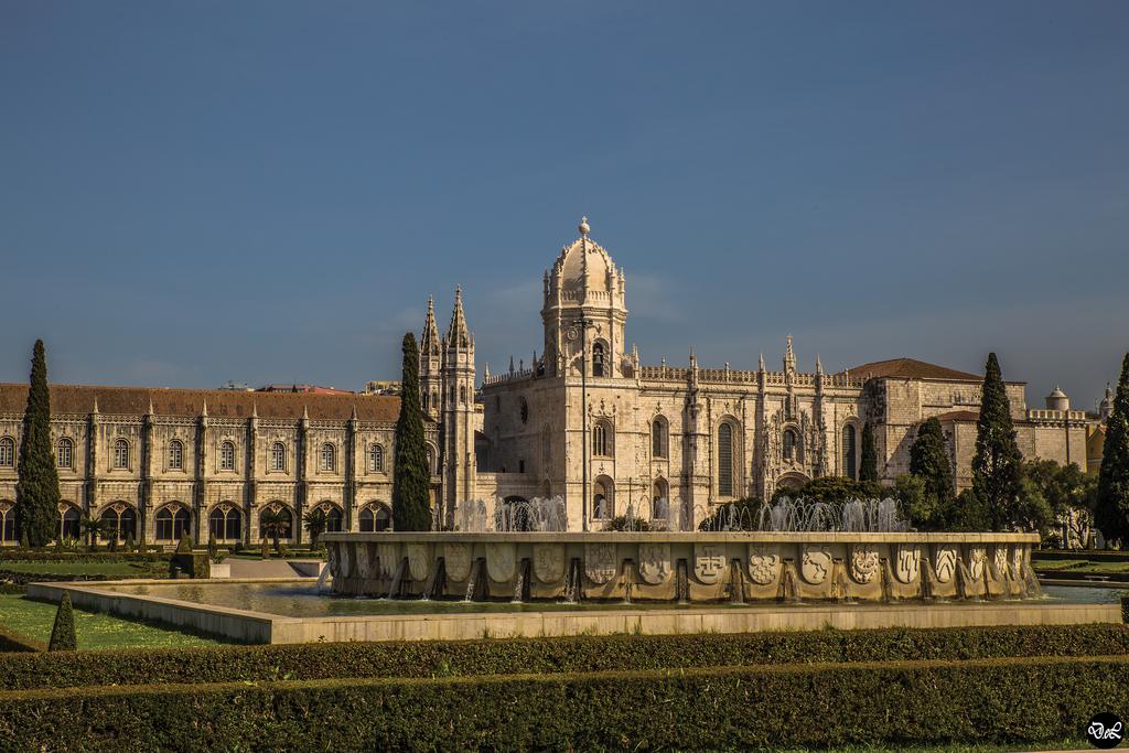 The Jerónimos Monastery or Hieronymites Monastery
