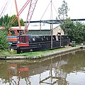 The Launching 3, Trent and Mersey Canal, Stone, Staffordshire - geograph.org.uk - 554977.jpg