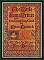 The Little Lame Prince and His Travelling Cloak by Dinah Maria Mulock illustrated by Hope Dunlap 1909 cover.jpg