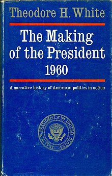 The Making of the President 1960 Front Cover (1961 first edition).jpg