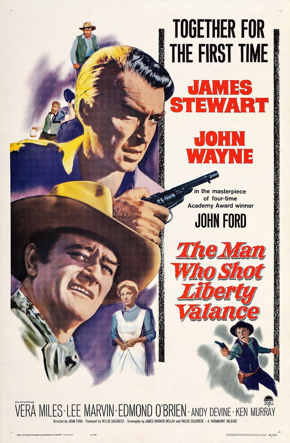 The Man Who Shot Liberty Valance Wikipedia