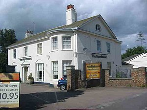 Piccotts End - Piccotts End, Marchmont Regency villa. Now a public house.