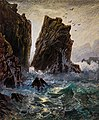 The Most Westerly Rocks of Land's End, Cornwall by William Trost Richards.jpg