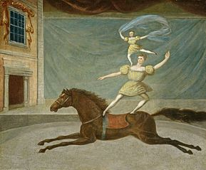 The Mounted Acrobats