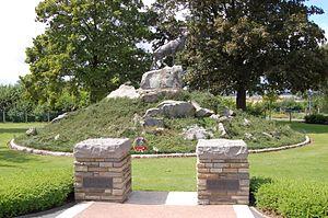 Masnières Newfoundland Memorial - Image: The Newfoundland Masnieres Memorial