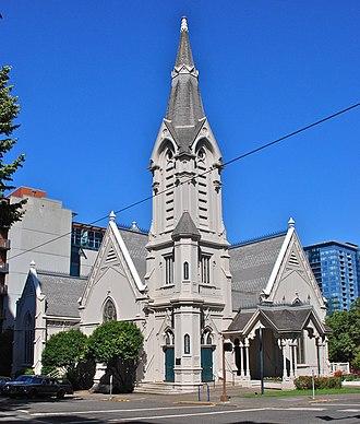 Warren Heywood Williams - Image: The Old Church (ex Calvary Presbyterian) Portland, Oregon