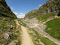 The Pennine Way north of Malham Cove - geograph.org.uk - 1355304.jpg