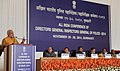 The Prime Minister, Shri Narendra Modi addressing at the All India Conference of DGPIGP, at Guwahati on November 30, 2014. The Union Home Minister, Shri Rajnath Singh and other dignitaries are also seen.jpg