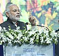 The Prime Minister, Shri Narendra Modi addressing at the inauguration ceremony of the India International Exchange in GIFT City, Gandhinagar, Gujarat on January 09, 2017.jpg