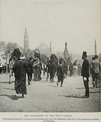The Procession of the Holy Carpet, With Sultan Hassan's Mosque in the Background. (1911) - TIMEA.jpg