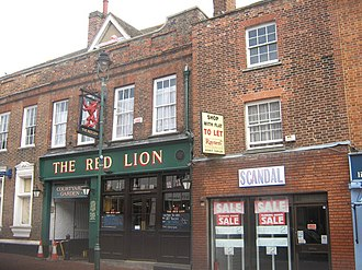 Sittingbourne - The Red Lion Public House, Sittingbourne