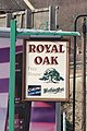 The Royal Oak Pub Sign, Blackburn Road, Sheffield - geograph.org.uk - 1296449.jpg